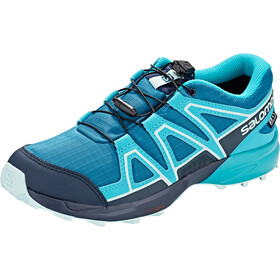 Salomon Speedcross CSWP Zapatillas Niños, lyons blue/bluebird/navy blazer
